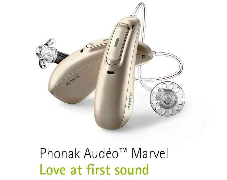 Phonak Audeo Marvel hearing aids