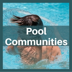 homes for sale pool communities wake county