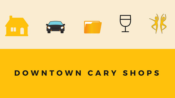 downtown cary shops