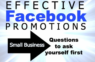 effective facebook promotions