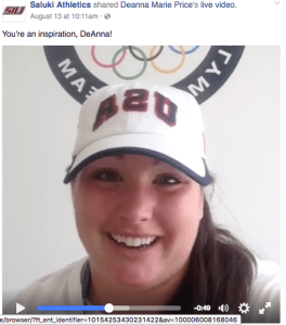 DeAnna Live Video HDM Blog Student Athlete