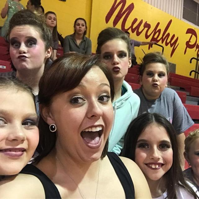 This past Saturday lynseyhentrich94 had her dance studios end ofhellip
