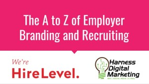 A To Z of Employer Branding and Recruiting