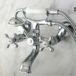 Shower Faucet With Polished Chrome