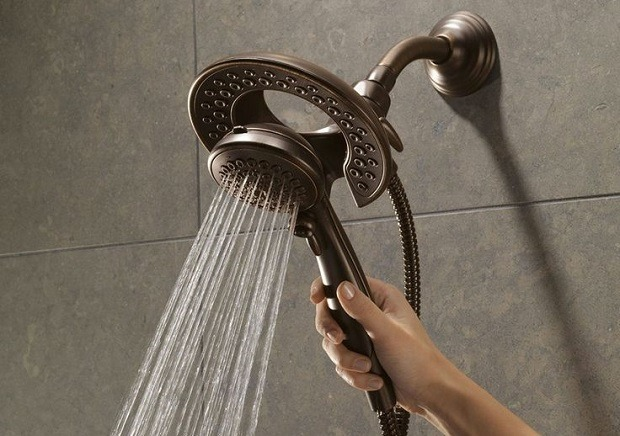 install a Handheld Showerhead