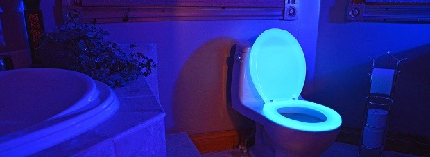 Review Of The Best Toilet Bowl Light You Must Have - Blue lights in bathroom