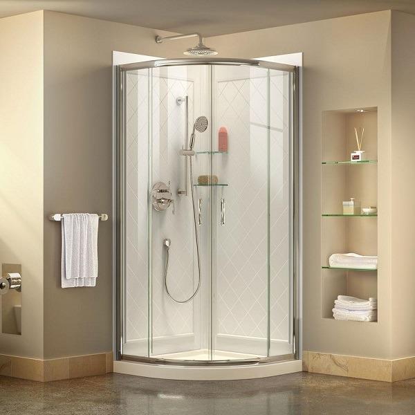 Corner Sliding Shower Enclosure