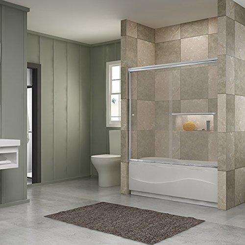 Frameless Sliding Bathtub Doors