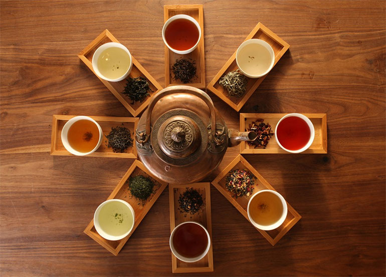Image result for different types of tea