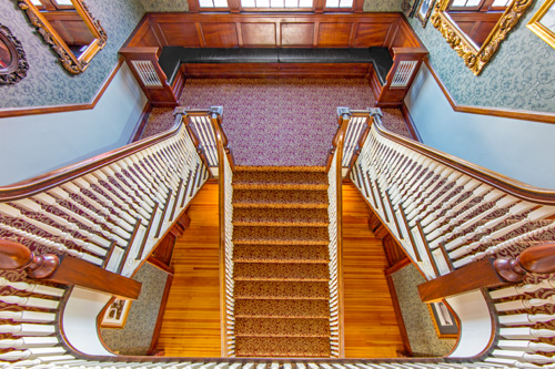 Stanley Hotel Stairs