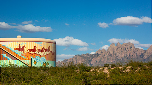 Las Cruces Water Tower