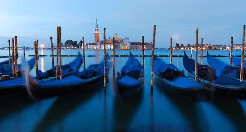 Morning Gondolas