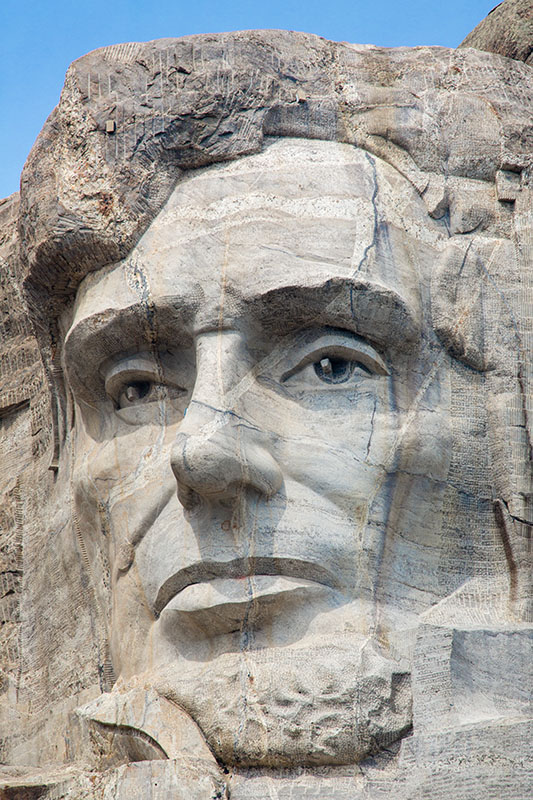 Abraham Lincoln, 16th president.