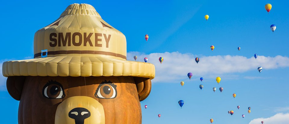 Smokey the Balloon
