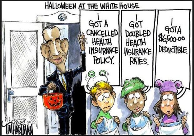 Cartoon Obamacare