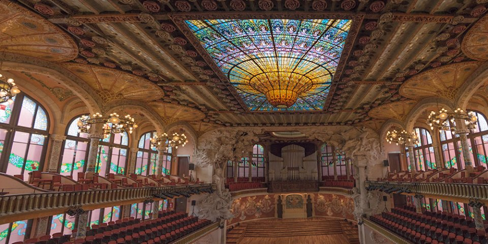 Barcelona Music Hall Panorama