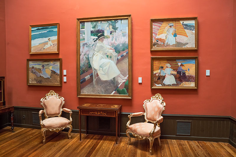 Sorolla Musuem Sitting Room