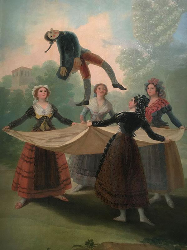 The Straw Manikin, by Francisco Goya