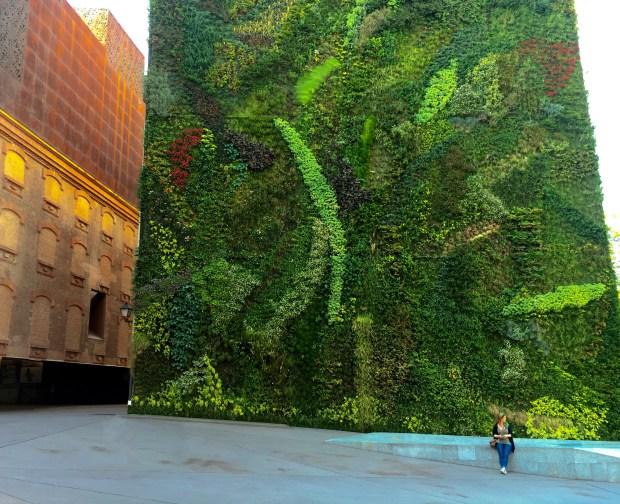 CaixaForum Madrid Verticle Garden