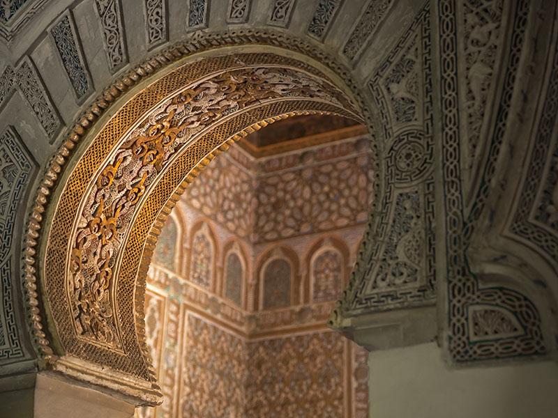 Seville Alcazar Arch
