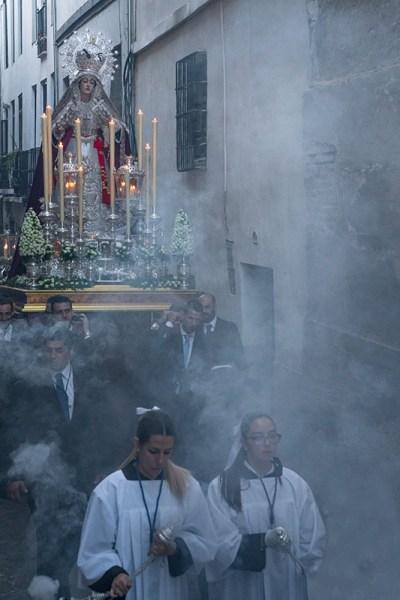 Procession of Aurora Reina Madre Del Albayzin