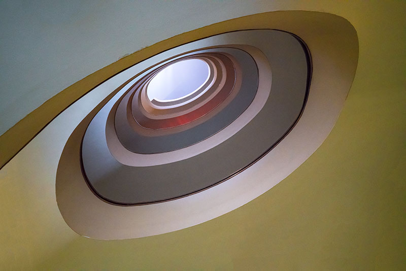 Spiral Stairs, Looking Up
