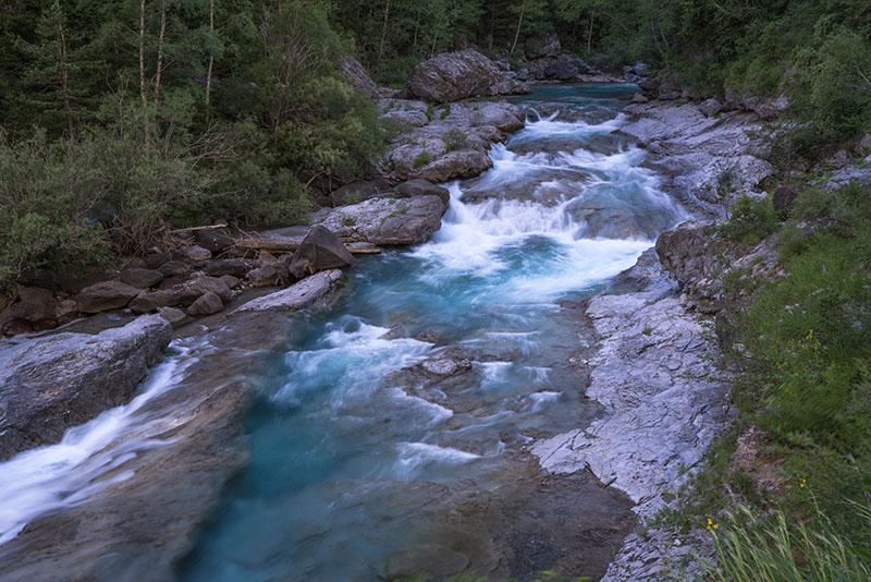 Pyrenees Torla river