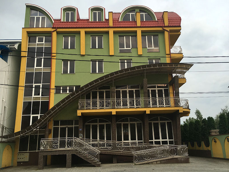 Five Story Gypsy Home