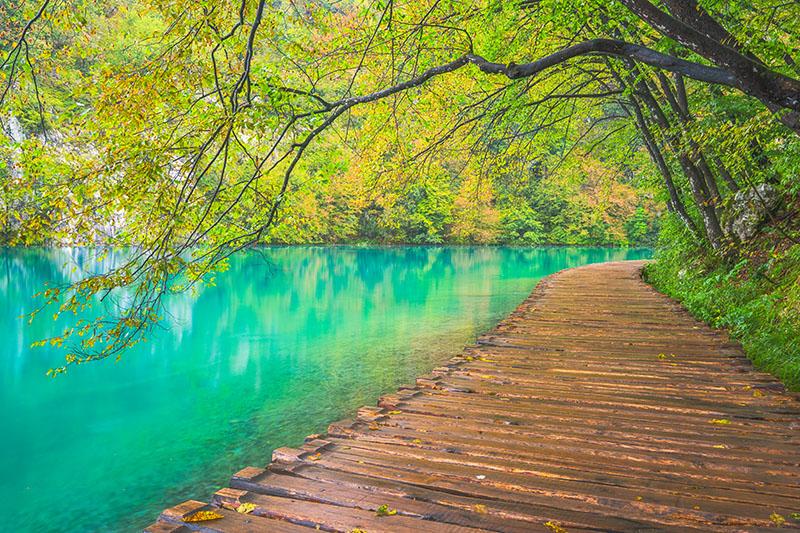 Plitvice Lakes Boardwalk