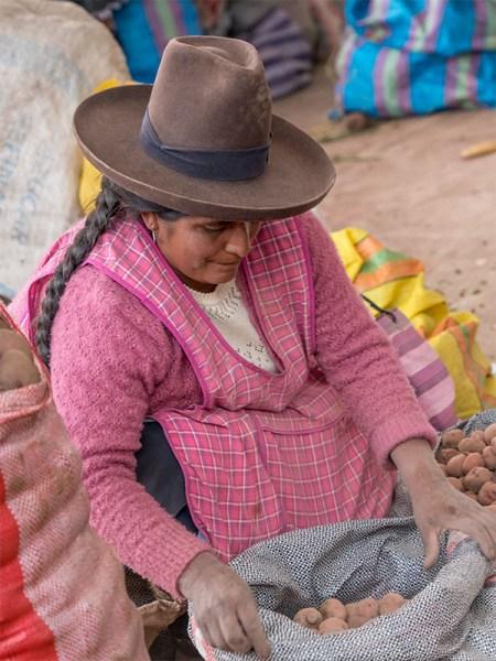 Selling small potatoes