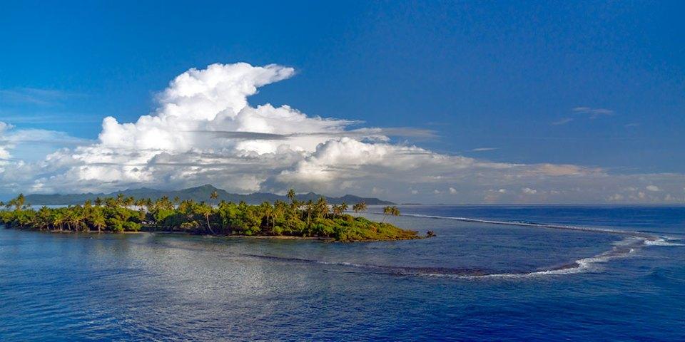 French Polynesian Atoll