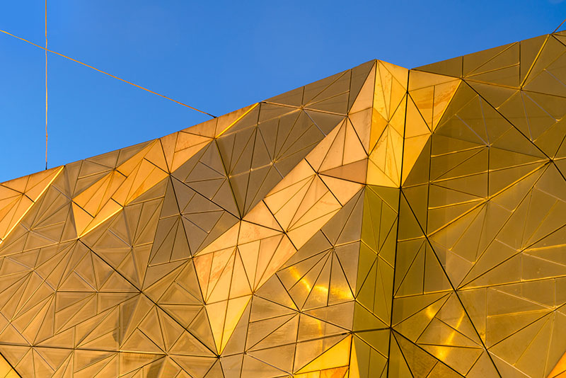 Modern Architecture in Federation Square
