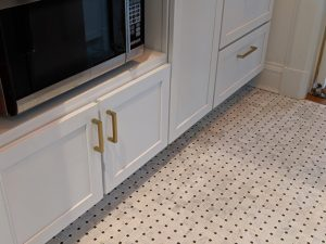 Basket Weave Tile in Pantry - Floors, Etc.