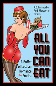 All You Can Eat: A Buffet of Lesbian Romance and Erotica