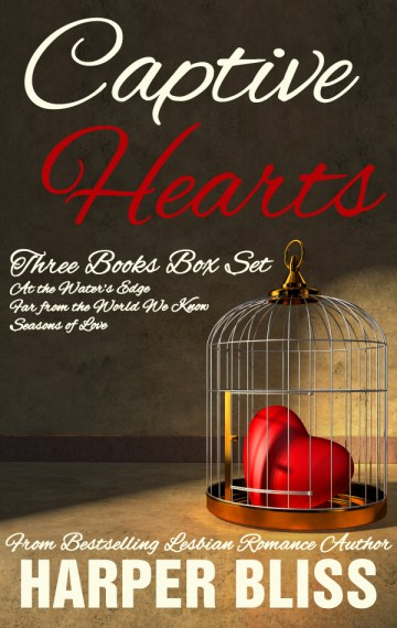 Captive Hearts: Three Lesbian Romance Novels