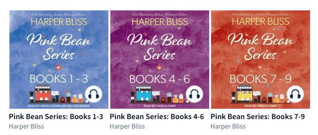 Pink Bean Box Sets In Audio