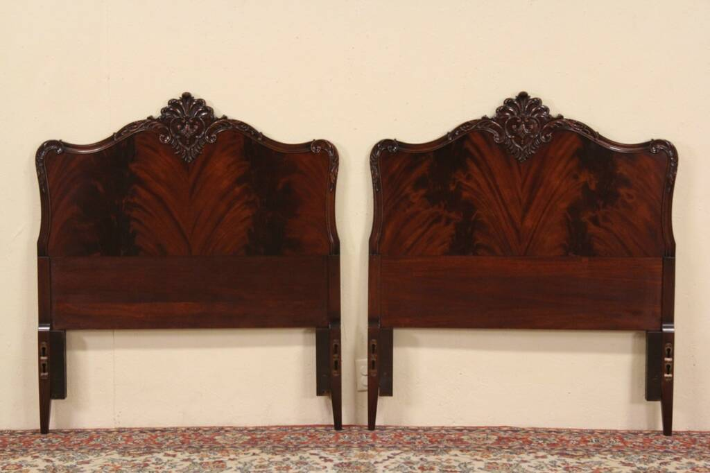 Headboards Twin Mahogany S 1940