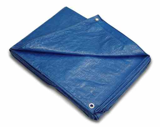 Blue Poly Economy Huricane Tarps - sold per case-0