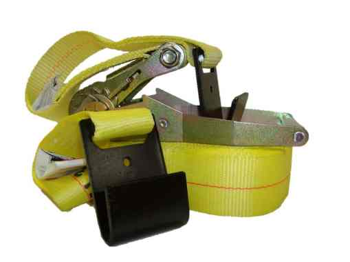 """2"""" x 30' Ratchet buckle strap with flat hook ends-0"""
