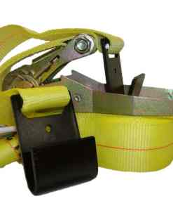 "2"" x 30' Ratchet buckle strap with flat hook ends-0"