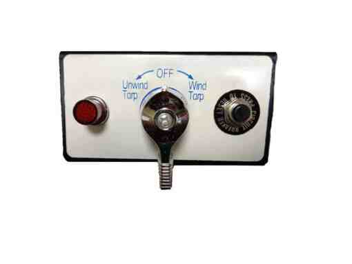 Rotary switch with wiring kit & mounting plate-307