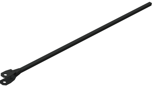 Steel Tarp Arm System with Bent Arms for Dump Trucks up to 24'-322