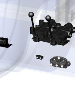 Hydraulic Control Lever-0