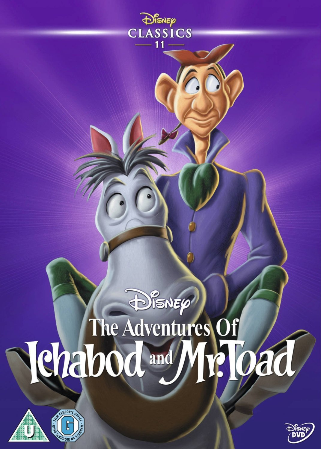 Image result for the adventures of ichabod and mr. toad