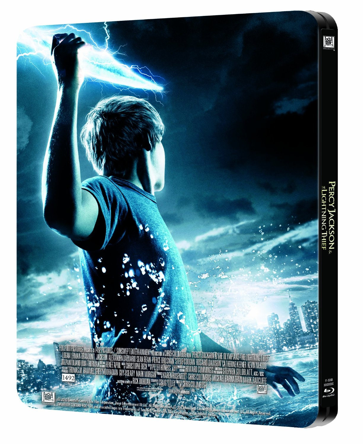 Percy Jackson Amp The Olympians The Lightning Thief Blu