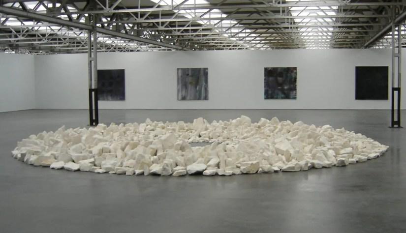 Richard Long, 1991, Planet Circle, museum De Pont,