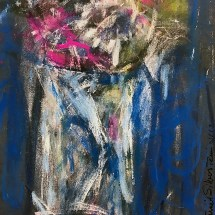 Blue & Pink Still Life No 1