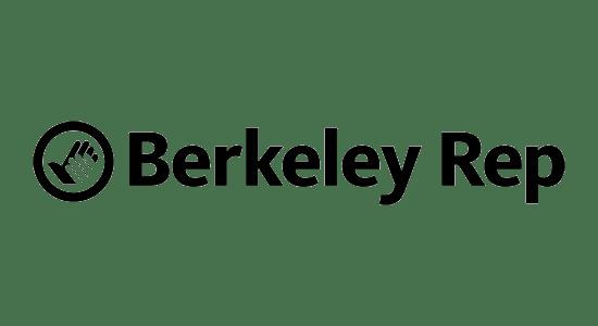 logo for the berkeley rep
