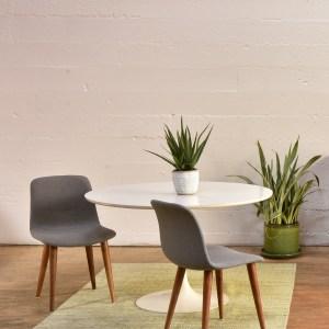 McCallister Dining Chair in Grey Felt