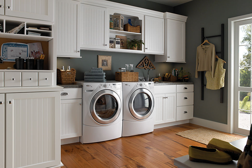 3 Ideas for Your Laundry Room that Will Make You Happy ... on Laundry Cabinets  id=24762
